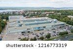 shopping center. mall of... | Shutterstock . vector #1216773319