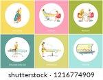 tanning procedure in spa beauty ... | Shutterstock .eps vector #1216774909