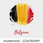 holiday background  for belgian ... | Shutterstock . vector #1216782409
