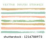 futuristic ink brush strokes...   Shutterstock .eps vector #1216788973