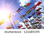 world flags | Shutterstock . vector #121685194