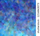 blue art venetian clear glass... | Shutterstock . vector #1216863073