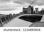 newcastle upon tyne  england ... | Shutterstock . vector #1216883836