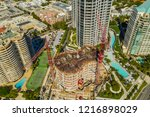 coconut grove  fl  usa  ... | Shutterstock . vector #1216898029