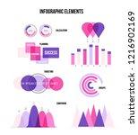 infographic elements  trendy... | Shutterstock .eps vector #1216902169