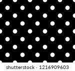 Black And White Polka Dot...