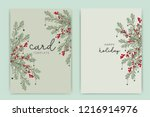 Happy Holidays Card Template...