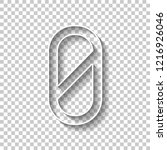 number zero  numeral  simple... | Shutterstock .eps vector #1216926046
