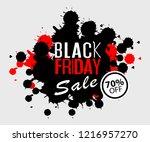 exclusive black friday sale... | Shutterstock .eps vector #1216957270