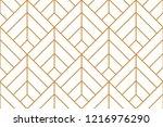 vector ornamental seamless...   Shutterstock .eps vector #1216976290