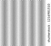 seamless pattern of zigzag... | Shutterstock .eps vector #1216981510