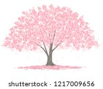 vector illustration of a big... | Shutterstock .eps vector #1217009656