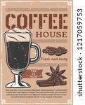 coffee house advertisement... | Shutterstock .eps vector #1217059753