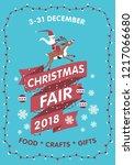 Vector Christmas Fair Poster...