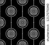 black and white seamless...   Shutterstock .eps vector #1217070340