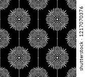 black and white seamless... | Shutterstock .eps vector #1217070376
