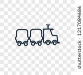 locomotive concept vector...   Shutterstock .eps vector #1217084686
