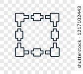 transform box concept vector... | Shutterstock .eps vector #1217102443