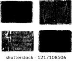 grunge post stamps collection ... | Shutterstock .eps vector #1217108506