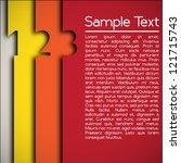 modern design layout | Shutterstock .eps vector #121715743