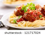Pasta With Meatballs And...