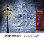 Vintage Scenery  Brick Wall ...