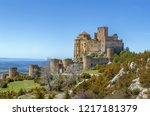 castle of loarre is a... | Shutterstock . vector #1217181379