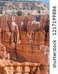 landscape on the bryce canyon... | Shutterstock . vector #1217199886