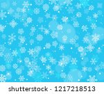 winter background with... | Shutterstock .eps vector #1217218513