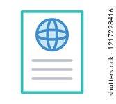 passport   id  ticket     Shutterstock .eps vector #1217228416