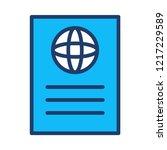 passport   id  ticket     Shutterstock .eps vector #1217229589