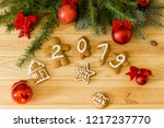 new year's eve. new year's... | Shutterstock . vector #1217237770
