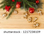 new year's eve. new year's... | Shutterstock . vector #1217238109