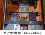 bend test of welding... | Shutterstock . vector #1217238319