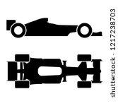 vector formula race car icon ... | Shutterstock .eps vector #1217238703