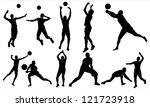 volleyball   Shutterstock .eps vector #121723918