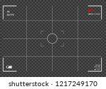camera frame screen   Shutterstock .eps vector #1217249170