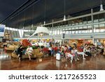 nice  france   july 14  2018 ...   Shutterstock . vector #1217265523