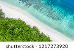 aerial top view beautiful... | Shutterstock . vector #1217273920