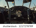 center console and throttles in ... | Shutterstock . vector #1217278789