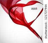 red frame | Shutterstock .eps vector #121727944