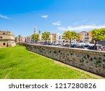 bari  italy   jul 8  2018  view ...   Shutterstock . vector #1217280826