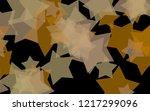 multicolored translucent stars... | Shutterstock . vector #1217299096