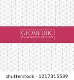editable abstract geometric... | Shutterstock .eps vector #1217315539