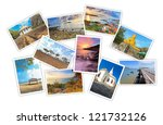 photos of tourist attraction at ... | Shutterstock . vector #121732126
