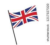 flag of union   union flag... | Shutterstock .eps vector #1217327320