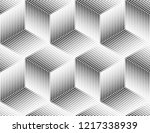 abstract geometric pattern. a... | Shutterstock .eps vector #1217338939