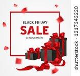 black friday sale design... | Shutterstock .eps vector #1217343220