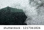 rainy weather reflections in...   Shutterstock . vector #1217361826