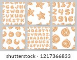 set of cartoon vector... | Shutterstock .eps vector #1217366833